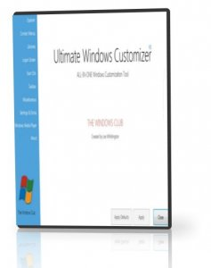 Ultimate Windows Customizer 1.0.1 [En]