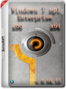 Windows 7 Enterprise KottoSOFT v.8.04.15 (x86-x64) (2015) [Eng/Rus]