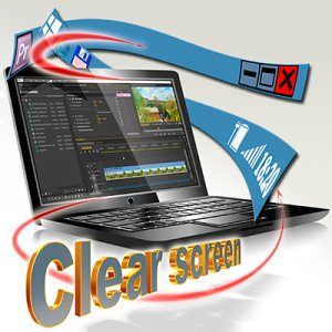 Clear screen 3.1.1 + Portable [Rus]
