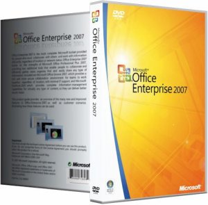 Microsoft Office 2007 Enterprise + Visio Premium + Project Pro + SharePoint Designer SP3 12.0.6718.5000 RePack by SPecialiST v15.4 [Rus]
