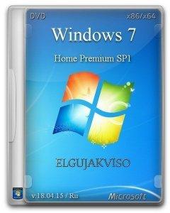Windows 7 Home Premium SP1 Elgujakviso Edition v18.04.15 (x86-x64) (2015) [ ...