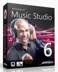 Ashampoo Music Studio 6.0.1.3 RePack by D!akov [Multi/Ru]