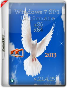 Windows 7 Ultimate Office 2013 KottoSOFT v.22.4.15 (x86-x64) (2015) [Rus]