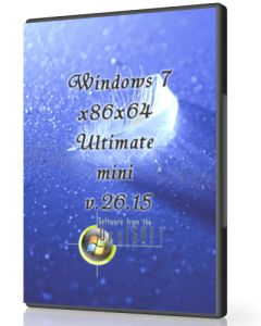 Windows 7 Ultimate mini UralSOFT v.26.15 (x86-x64) (2015) [Rus]