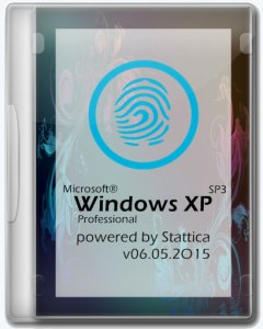 Windows® XP Pro SP3 [v06.05.2015] by Stattica (x86) (2015) [RUS]