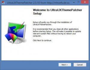 UltraUXThemePatcher 2.5.10 [En]