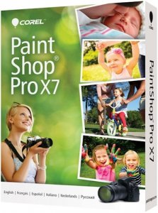 Corel PaintShop Pro X7 17.2.0.17e Special Edition RePack by -{A.L.E.X.}- [Multi/Rus]