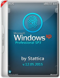 Windows® XP Pro SP3 by Stattica v12.05.2015 (x86) (2015) [Rus]