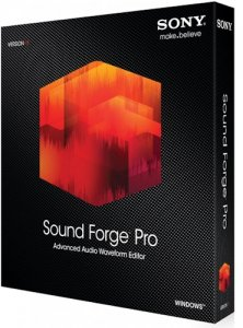 SONY Sound Forge Pro 11.0 Build 299 (x86) RePack by MKN [Rus/Eng]