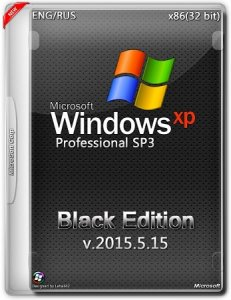 Windows XP Pro SP3 Black Edition v.2015.5.15 (х86) (2015) [Eng/Rus]