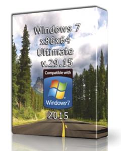 Windows 7 Ultimate UralSOFT v.29.15 (x86-x64) (2015) [Rus]