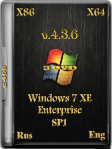 C400's Windows 7 XE v.4.3.6 Enterprise (x86/x64) (2015) [RUS/ENG]