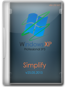 Windows XP Professional SP3 by Simplify (x86/x64) (2015) [Rus]