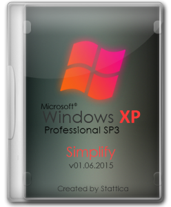 Windows® XP SP3 Simplify v01.06.2015 by Stattica (x86) (2015) [Rus]