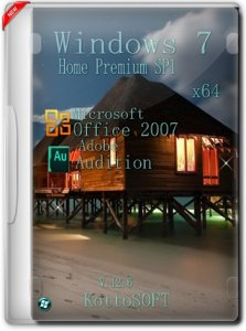 Windows 7 Home Premium Office 2007 KottoSOFT v.12.6 (x64) (2015) [Rus]