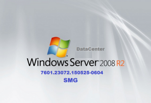 Microsoft Windows Server DataCenter 2008 R2 7601.23072.150525-0604 x64 RU SMG by Lopatkin (2015) Rus