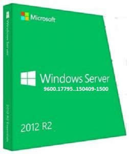 Microsoft Windows Server 2012 R2 9600.17795.150409-1500 x64 RU 2x1 by Lopatkin (2015) Rus