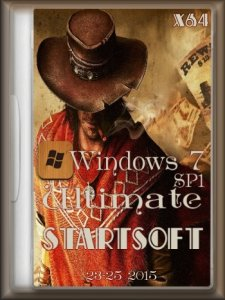Windows 7 Ultimate SP1 StartSoft 23-25 (x64) (2015) [Rus]
