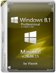 Windows 8.1 Professional minimal by vlazok v. 28.06.15 (x86) (2015) [Rus]