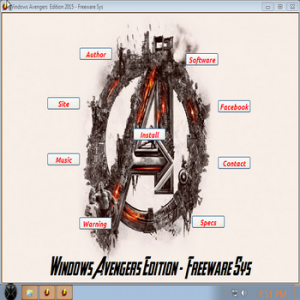 Windows 7 Avengers Edition - Freeware Sys by DiLshad Sys (x86) (2015) [ENG]