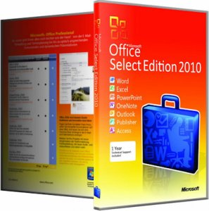 Microsoft Office 2010 SP2 Select Edition 14.0.7153.5000 RePack by KpoJIuK [Rus]