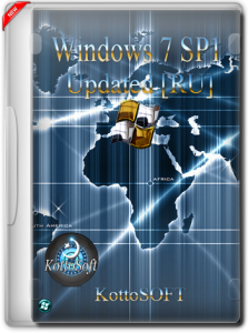 Windows 7 SP1 (All) with Update  by KottoSOFT (x86-x64) (2015) [Rus]