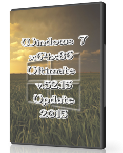 Windows 7 Ultimate SP1 by UralSOFT v.52.15 (x86-x64) (2015) [Rus]