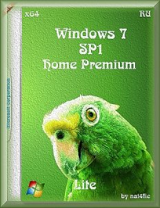 Windows 7 Home Premium SP1 Lite by nai4fle (x64) [RU]
