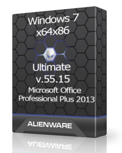 Windows 7 Ultimate v.55.15 by UralSOFT (x64x86) [Rus] (2015)