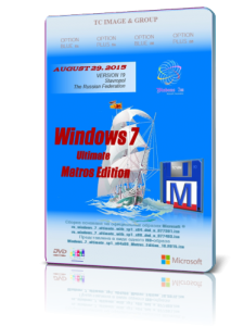 Windows 7 Ultimate SP1 Matros Edition v19 (x86/x64) (2015) [Ru]