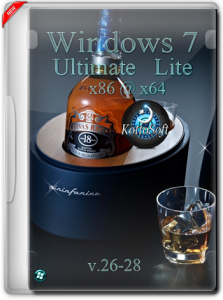 Windows 7 Ultimate mini KottoSOFT v.26-28 (x86-x64) [Rus] (2015)