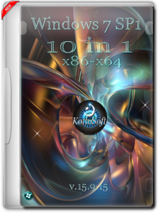 Windows 7 10 in 1 KottoSOFT v.15.9.15 (x86-x64) [Rus] (2015)