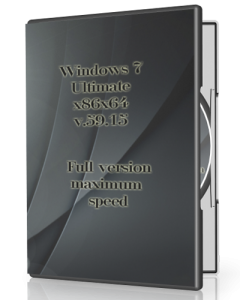 Windows 7 Ultimate v.59.15 by UralSOFT (x86x64) [Rus] (2015)