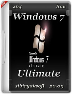 Windows 7 Ultimate by sibiryaksoft v.20.09 (x64) [Ru] (2015)