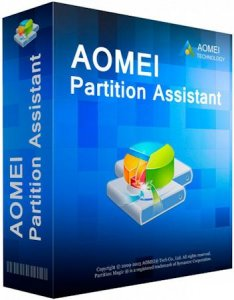 AOMEI Partition Assistant Professional | Server | Technician | Unlimited Edition 5.8 RePack by D!akov [Multi/Ru]