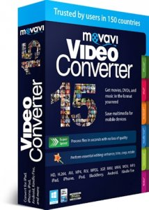 Movavi Video Converter 15.3.0 RePack by KpoJIuK [Multi/Ru]