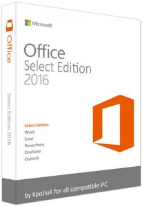 Microsoft Office 2016 Select Edition 16.0.4266.1001 RePack by KpoJIuK [Ru]