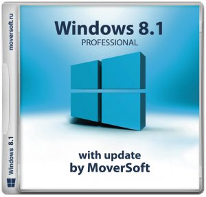 Windows 8.1 Pro with update MoverSoft 10.2015 (x86/x64) [Multi/Ru] (2015)