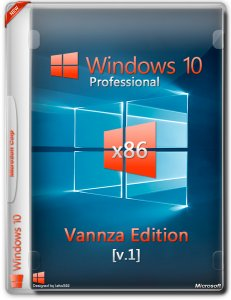 Windows 10 Professional 32-bit (x86) Vannza Edition [v1] (2015) [Ru]