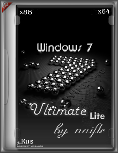 Windows 7 Ultimate SP1 Lite by naifle (x86-x64) [RU] (2015)