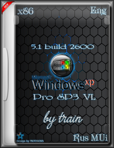 Windows XP Pro SP3 VL x86 5.1 by train (build 2600) [Multi/Ru]