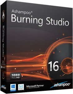 Ashampoo Burning Studio 16.0.0.25 RePack (& Portable) by KpoJIuK [Multi/Ru]