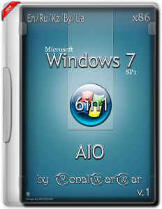 Windows 7 AASDP AIO 6in1 by RWW (x86) [En/Ru/Kz/By/Ua] (2015)