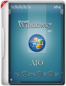 Windows 7 AASDP by RWW (AIO) (x64) [Ru/Multi] (2015)