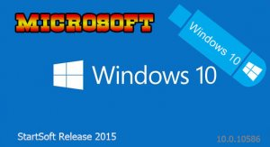 Windows 10 be StartSoft 89-2015 (x86-x64) [Ru] (2015)