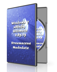 Windows 7 Ultimate v.85.15 by UralSOFT (x86x64) [Ru] (2015)