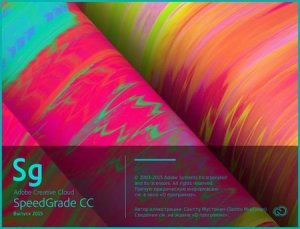 Adobe SpeedGrade CC 2015.1 RePack by D!akov [Multi/Ru]