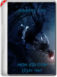 Windows 7 SP1 (x64) Ultimate - MoN Edition @ [5].01 (2015) RUS