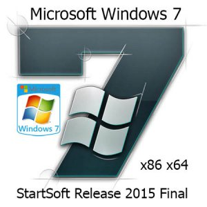Windows 7 SP1 USB-DVD StartSoft 88-91 Final (x86-x64) [Ru] (2015)