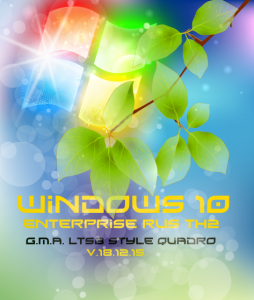 Windows 10 Enterprise TH2 G.M.A. LTSB Style QUADRO v.18.12.15. (32bit/64bit ...